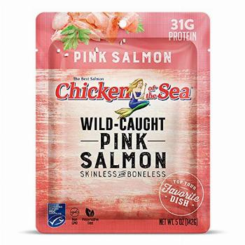 Chicken of the Sea Pink Salmon Skinless & Boneless Pouch, 5