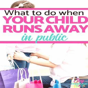Child Runs Away in Public | What to do Step by Step Tips and tricks for what to do when your child