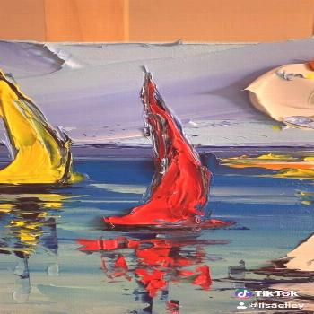 Learn to paint sailboats - -