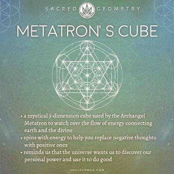 Metatron's Cube Meaning The sacred geometry of Metatron's Cube ?