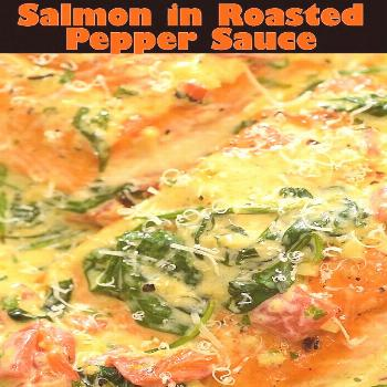 This Creamy Salmon makes an absolutely scrumptious dinner, worthy of a special occasion. Make this