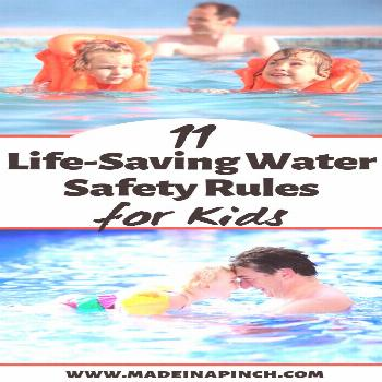 Water safety is as important as life and death when you're a parent. Check out these water safety t