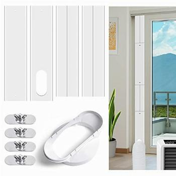 ZOOI Sliding Door Air Conditioner Kit with 2-in-1 Coupler,